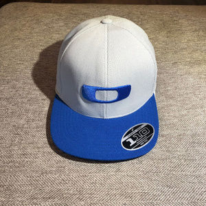 Blue and Gray Oakley 110 FlexFit Tech Hat